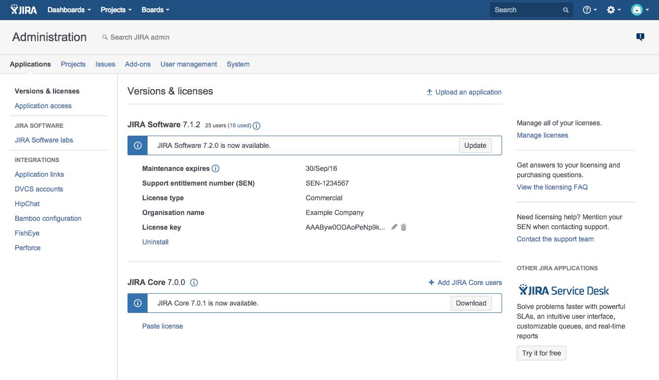 Atlassian jira free download.
