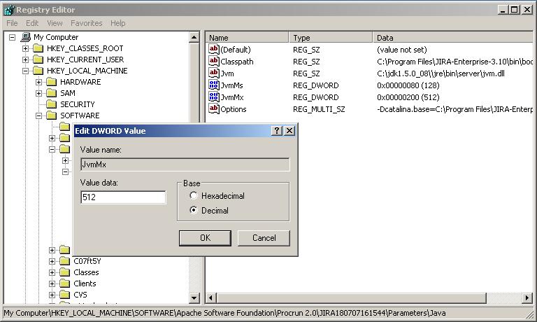 Increasing JIRA application memory - Atlassian Documentation
