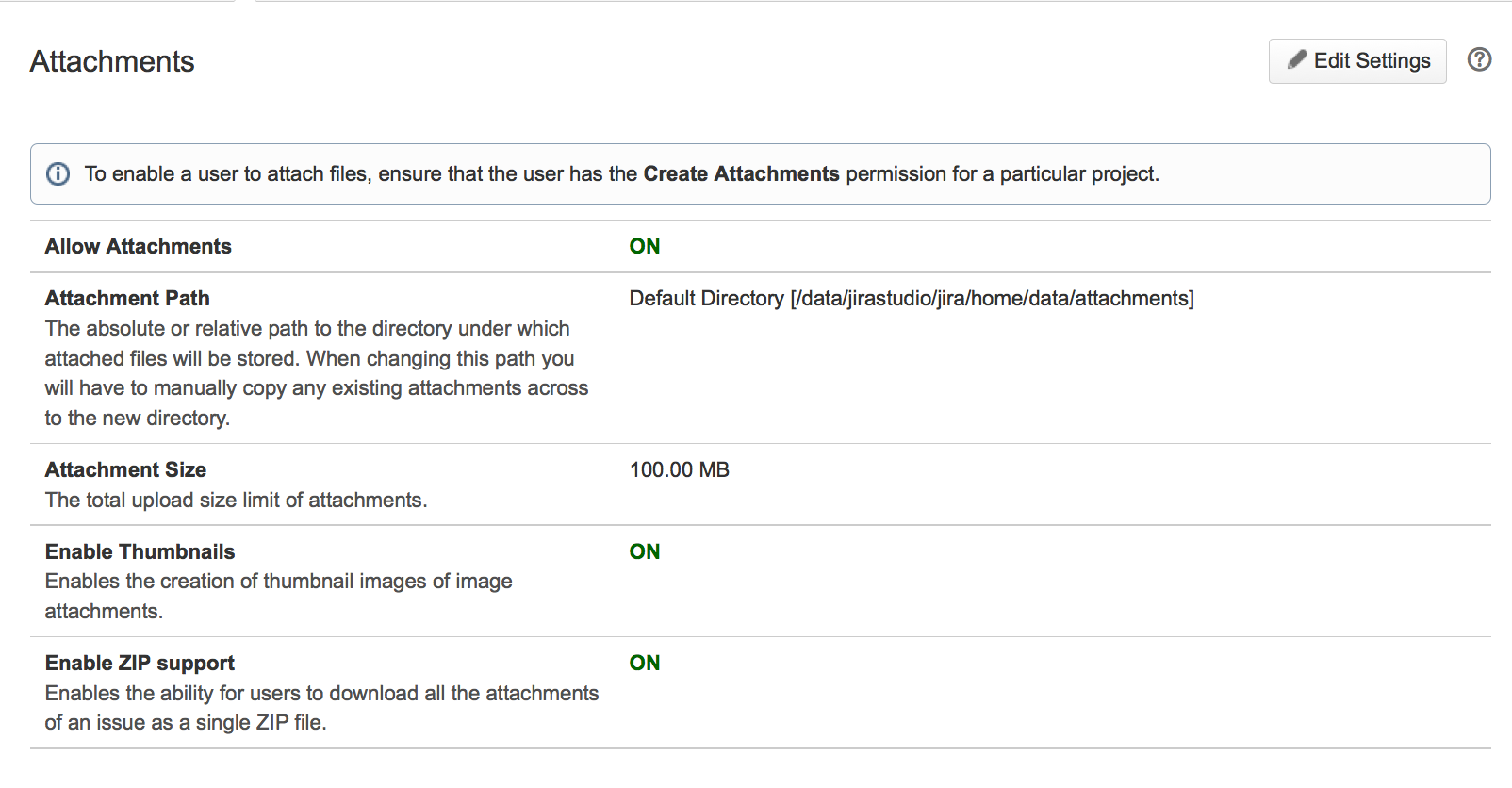 Configuring file attachments - Atlassian Documentation