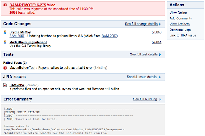 Bamboo 2 2 release notes atlassian documentation for It notification email template