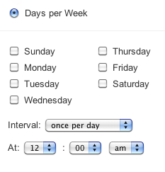 Cron-based scheduling - Atlassian Documentation