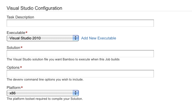 Getting started with  NET and Bamboo - Atlassian Documentation
