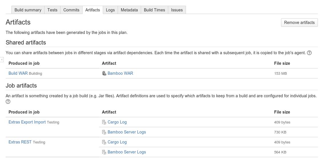 Viewing a job's Maven dependencies - Atlassian Documentation
