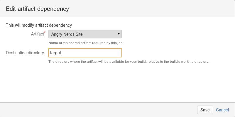 Sharing artifacts - Atlassian Documentation