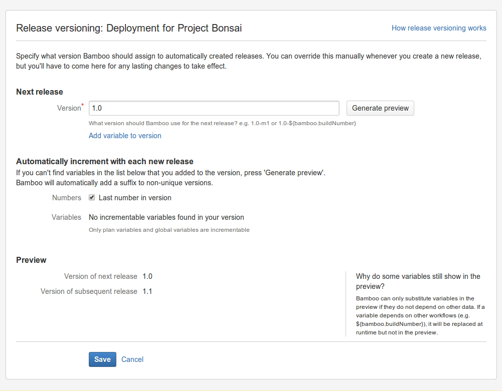 A sample deployment project - Atlassian Documentation
