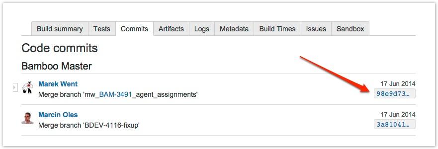 Integrating Bamboo with Bitbucket Server - Atlassian