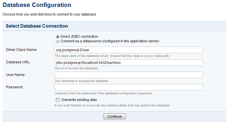 PostgreSQL - Atlassian Documentation