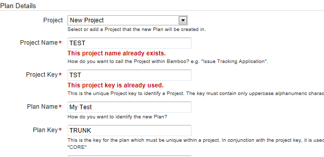 how to create a project plan in confluence