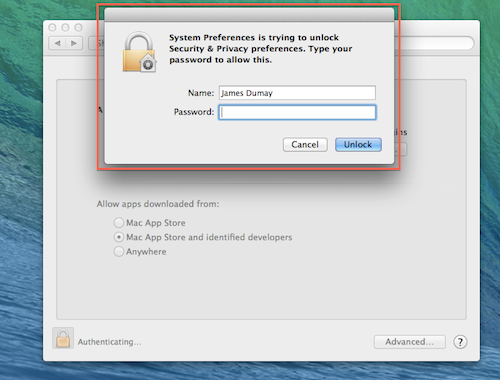 Installer package on mac os x cannot be opened due to code for Mac due the box