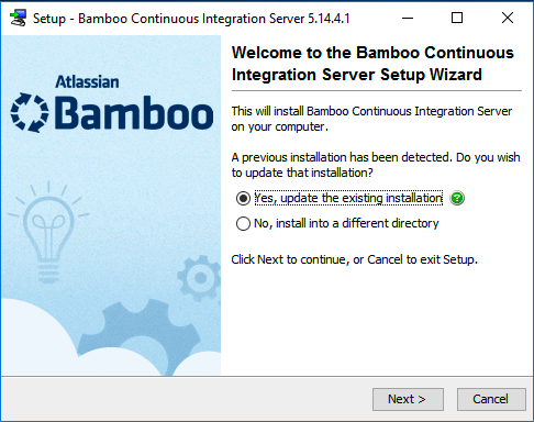 Upgrading Bamboo on Windows and moving from an unsupported Database