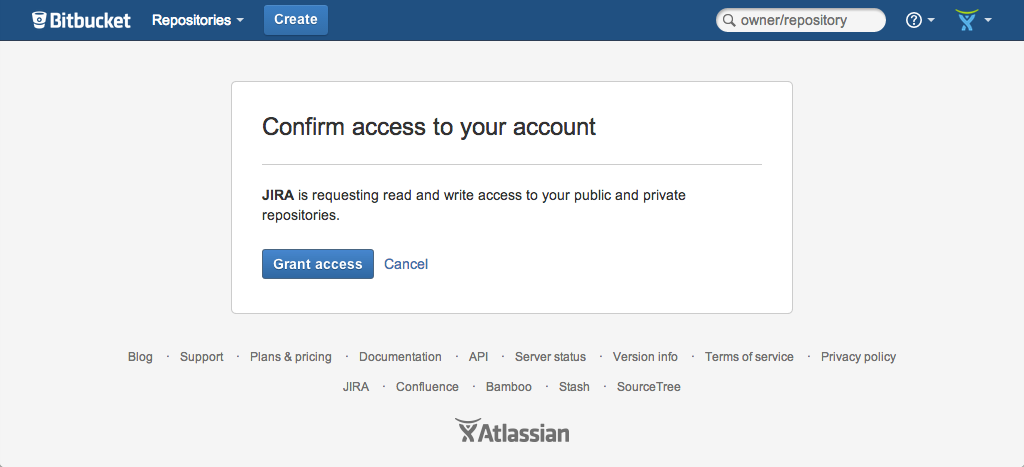Confirm access to your account pop-up.