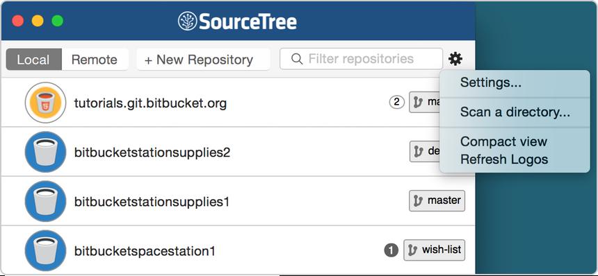 SourceTree a Free Git and Mercurial GUI (Mac OSX) - Atlassian