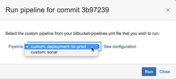 Configure bitbucket-pipelines yml - Atlassian Documentation