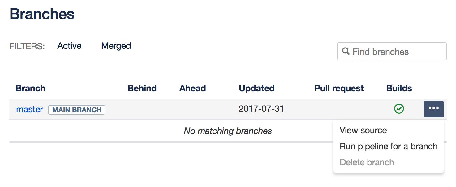 Run pipelines manually - Atlassian Documentation
