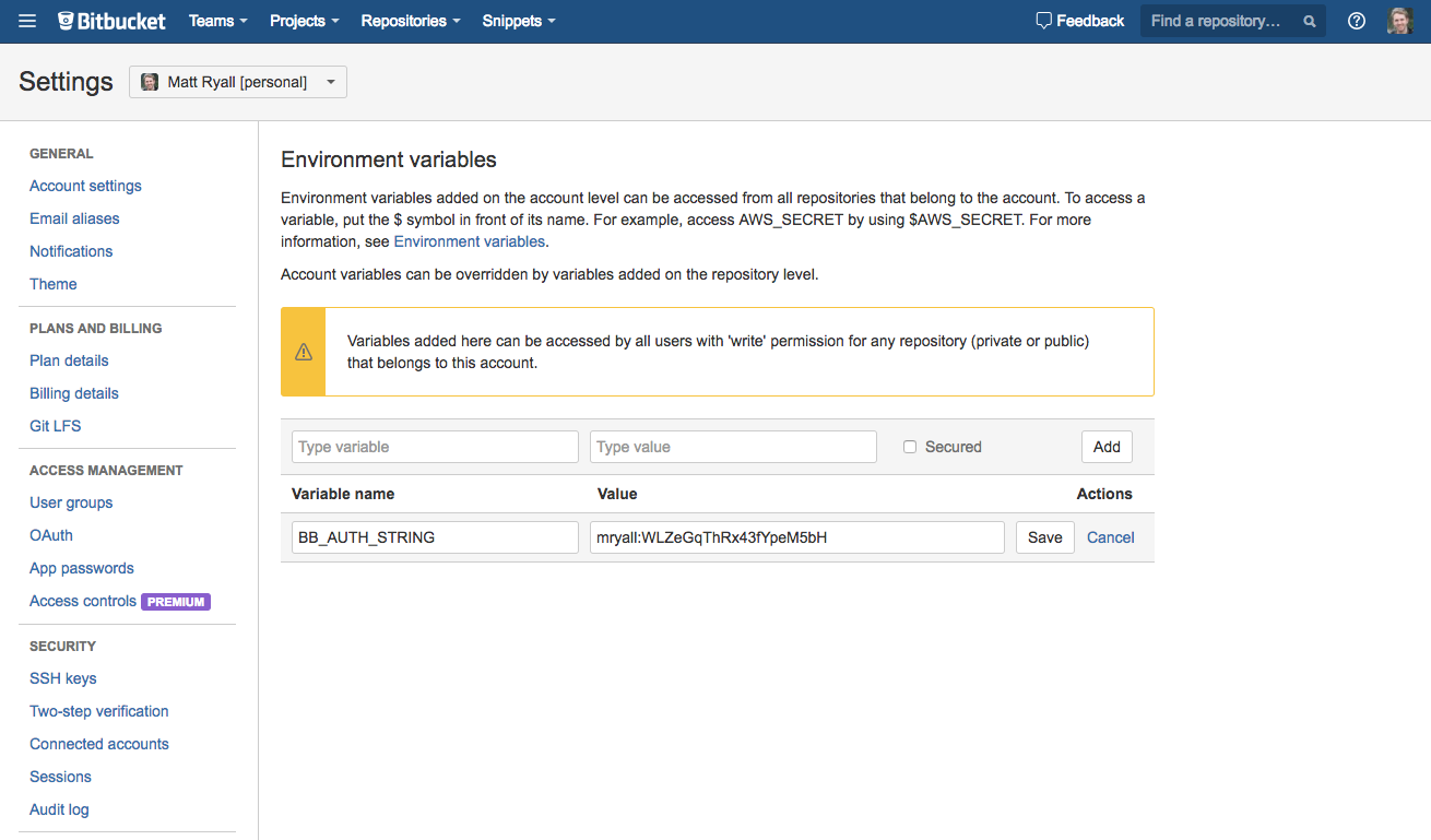 Publish and link your build artifacts - Atlassian Documentation