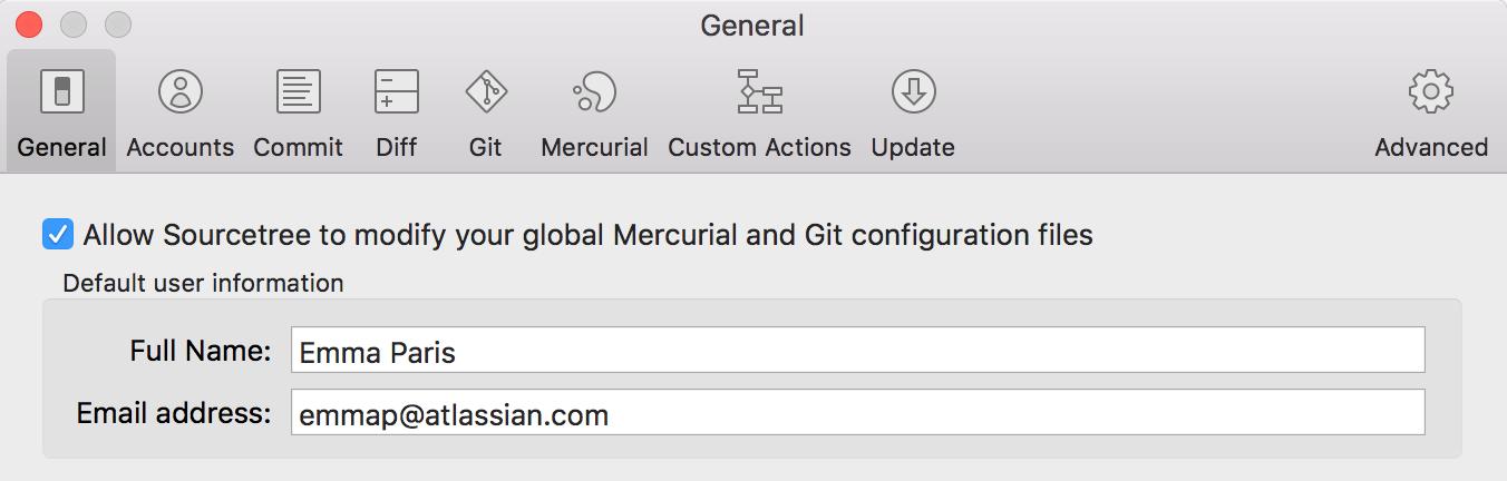 Configure your DVCS username for commits - Atlassian
