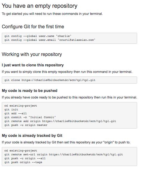 Creating repositories - Atlassian Documentation