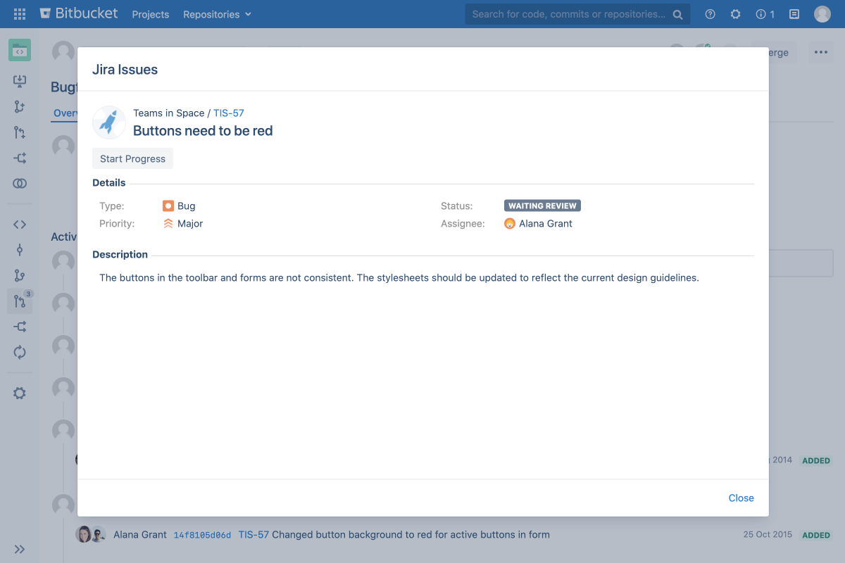 interact with Jira issues