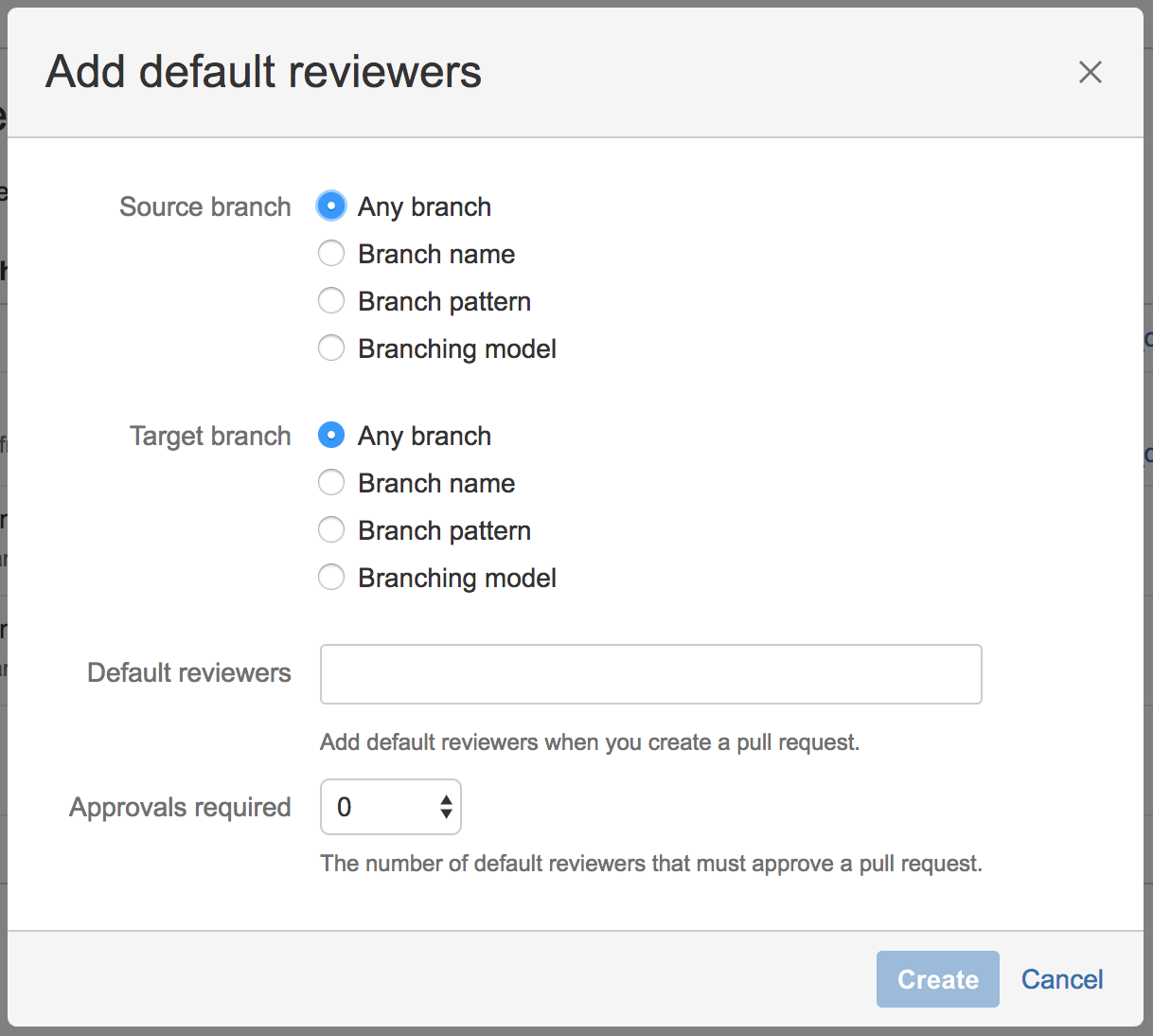 Adding Default Pull Request Reviewers For A Single Repository