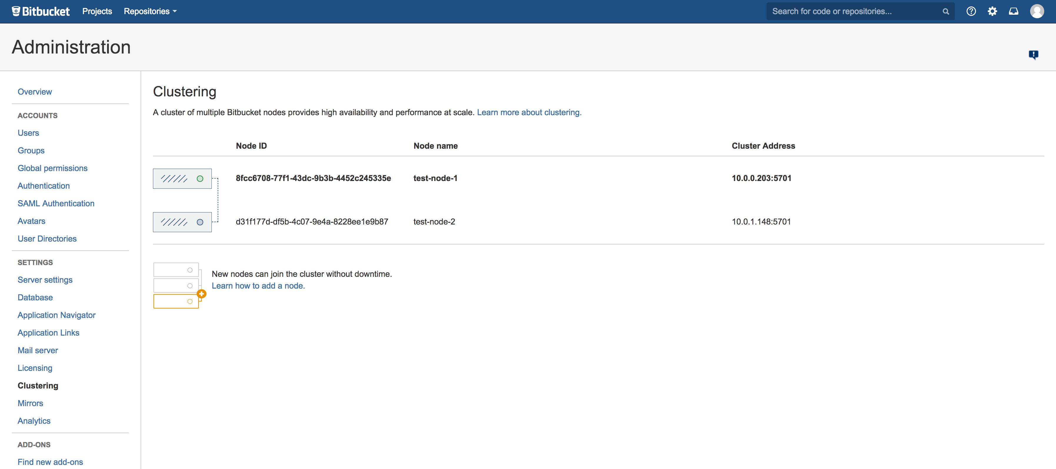 Install Bitbucket Data Center - Atlassian Documentation