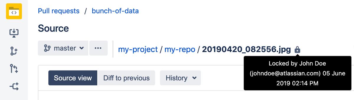 Working with Git LFS Files - Atlassian Documentation