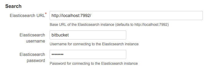 Install and configure a remote Elasticsearch instance - Atlassian