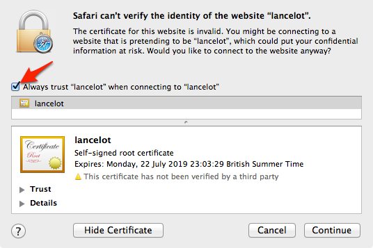 Resolving SSL Self-Signed Certificate Errors - Atlassian