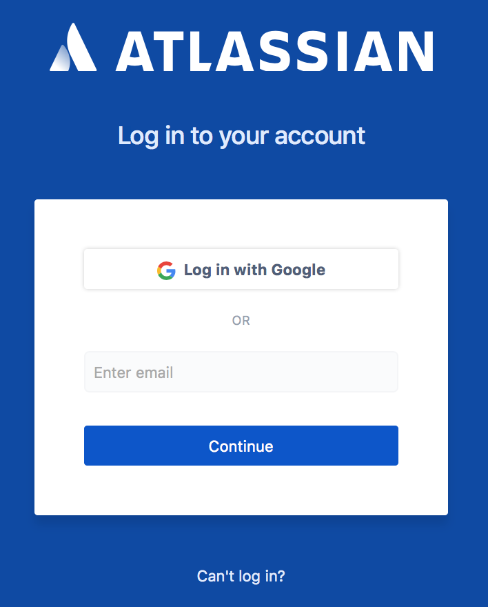 How G Suite users log in - Atlassian Documentation