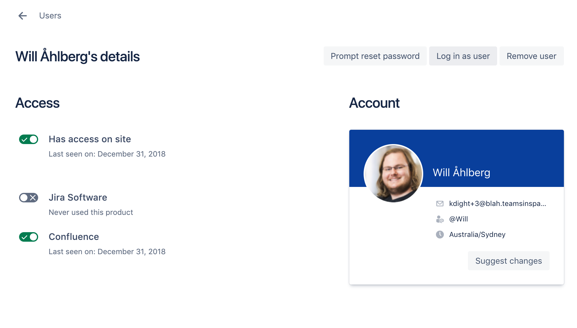 Log in as another user - Atlassian Documentation