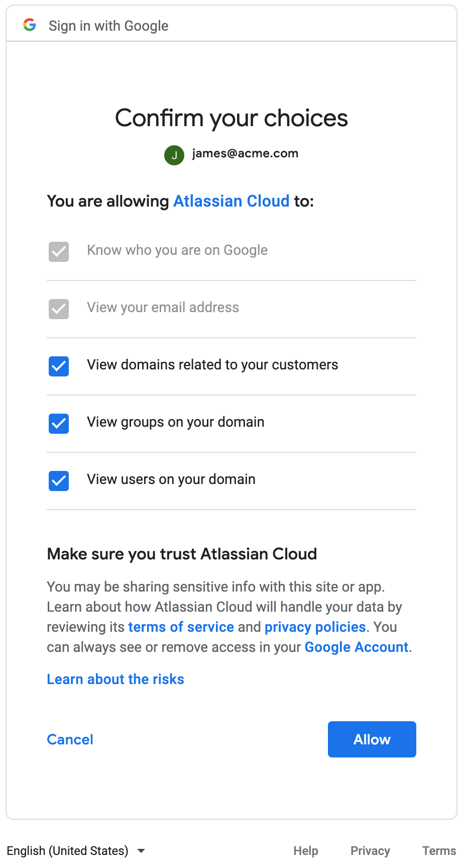 G Suite FAQs - Atlassian Documentation