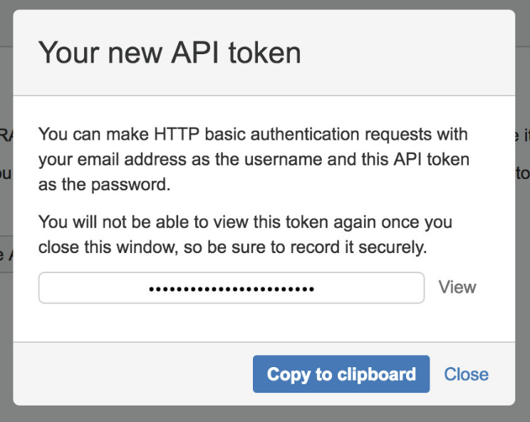 API tokens - Atlassian Documentation