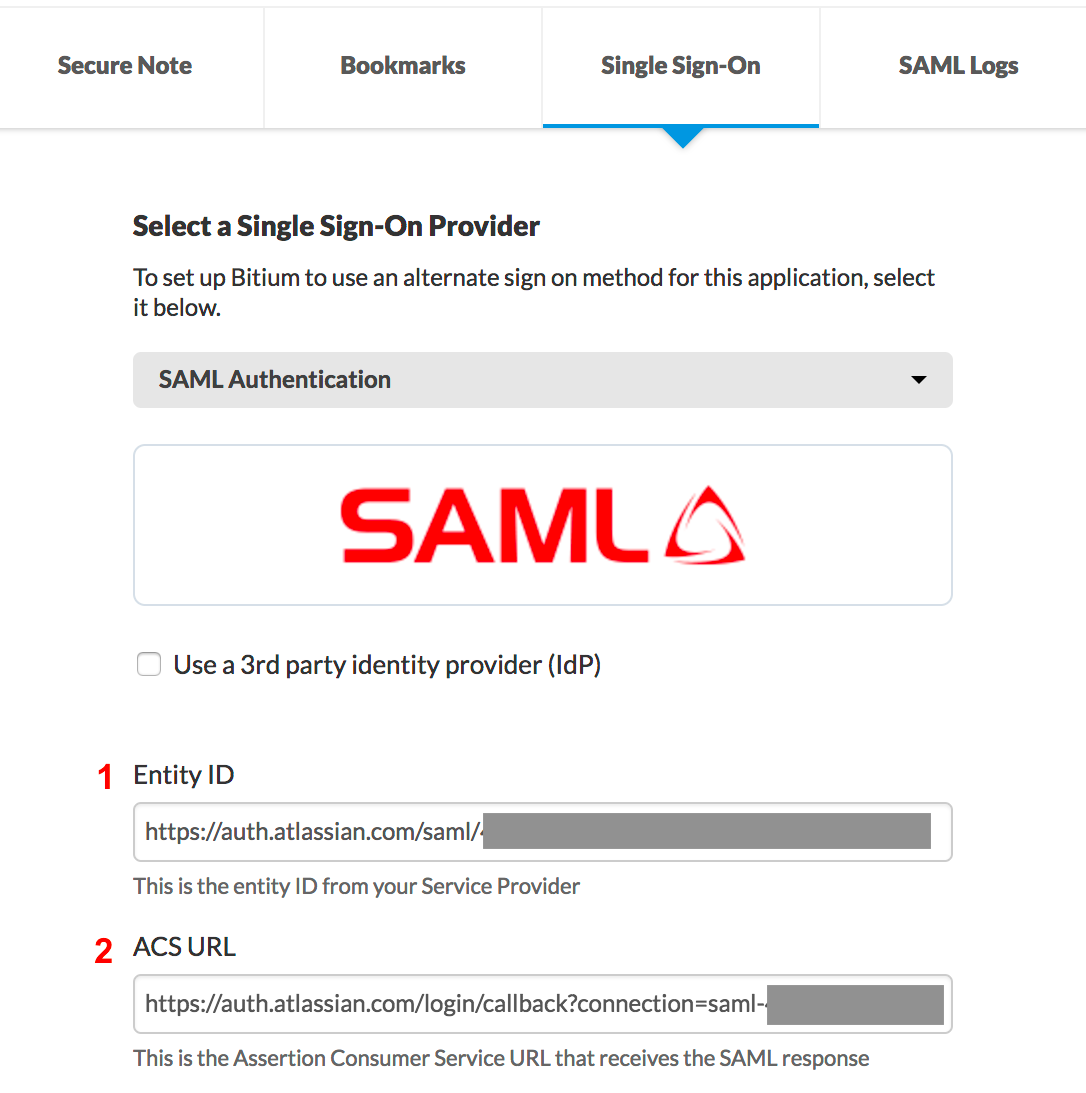 SAML single sign-on - Atlassian Documentation
