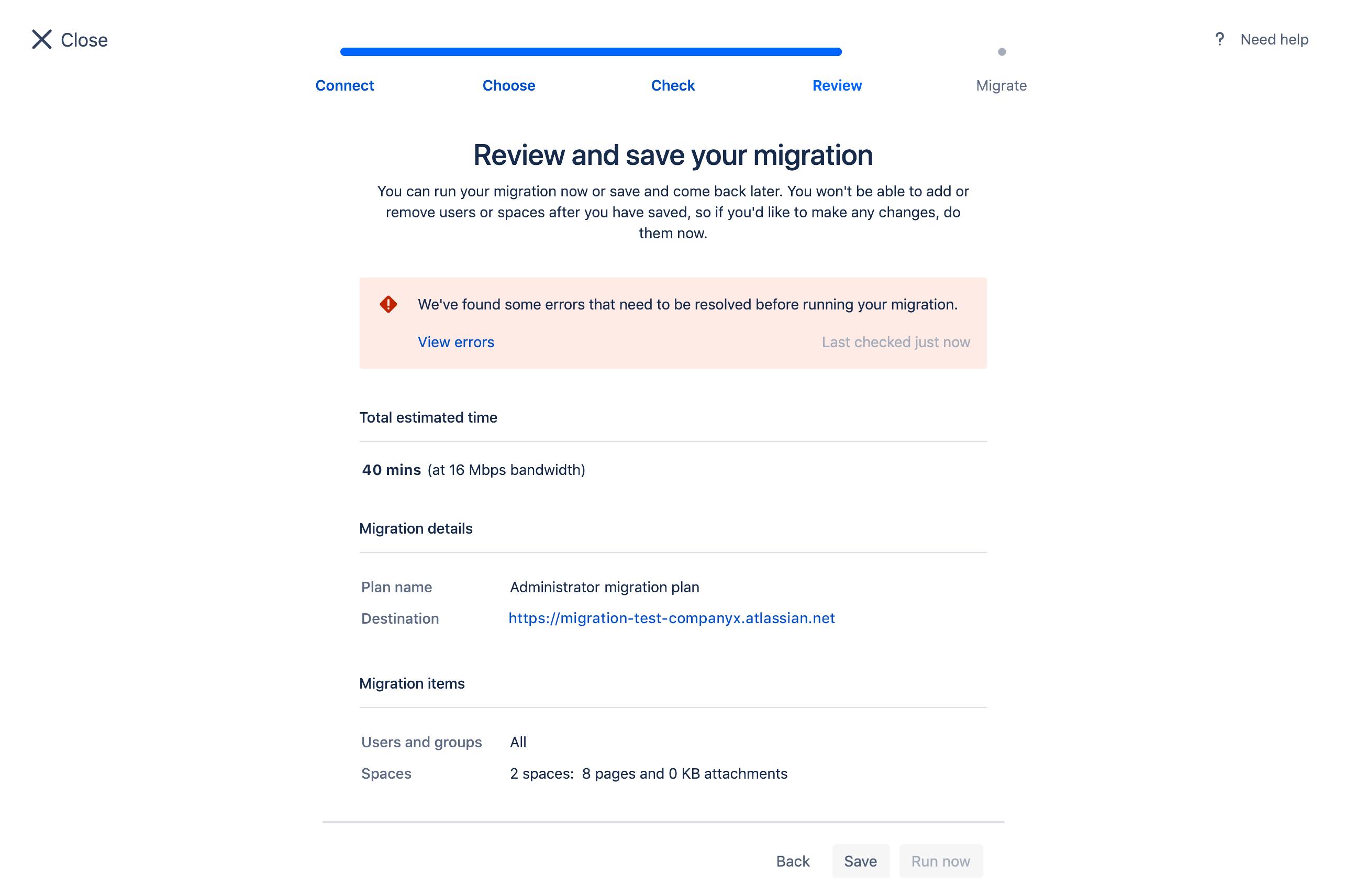 Confluence Cloud Migration Assistant - Atlassian Documentation