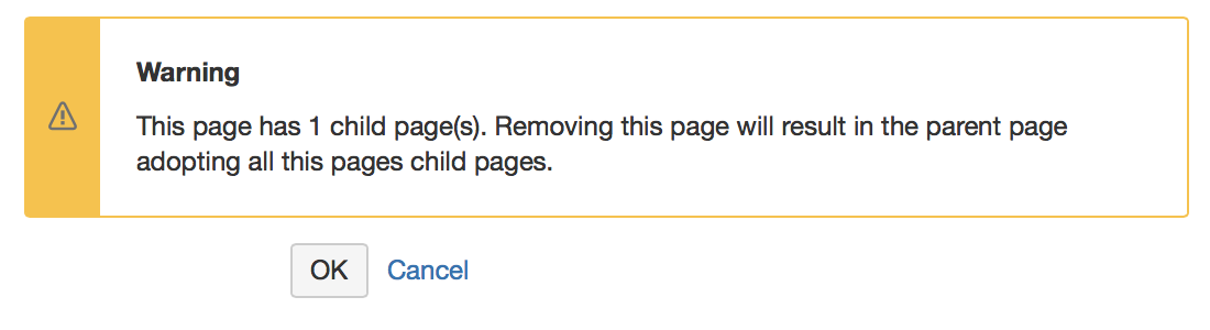 If you want to remove a parent page and a large number of child pages: