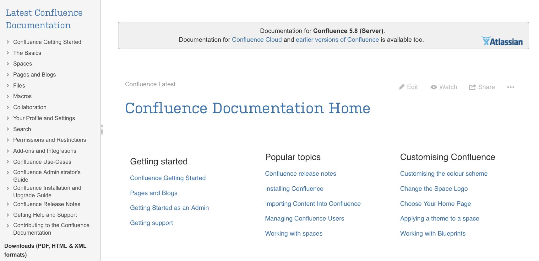 configure the documentation theme atlassian documentation rh confluence atlassian com Wiki Markup Code Wiki Markup Code