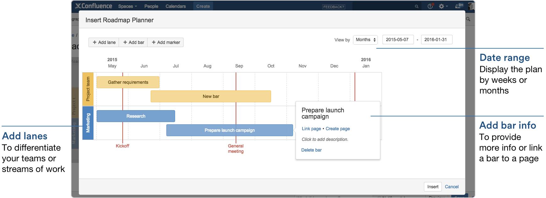 Roadmap Planner Macro - Atlassian Documentation