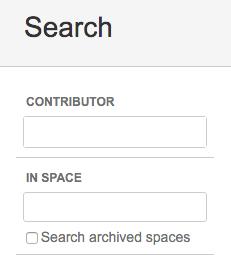 Confluence でアーカイブ済みのスペースを検索する