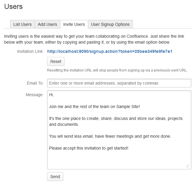 Add and invite users atlassian documentation reset the invitation link stopboris Choice Image