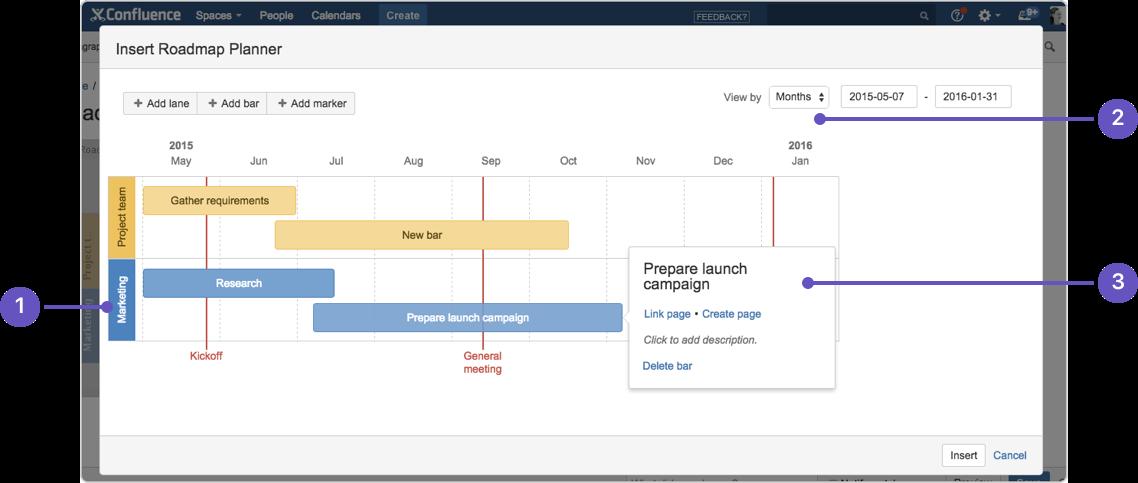 Roadmap Planner Macro Atlassian Documentation - Roadmap planner