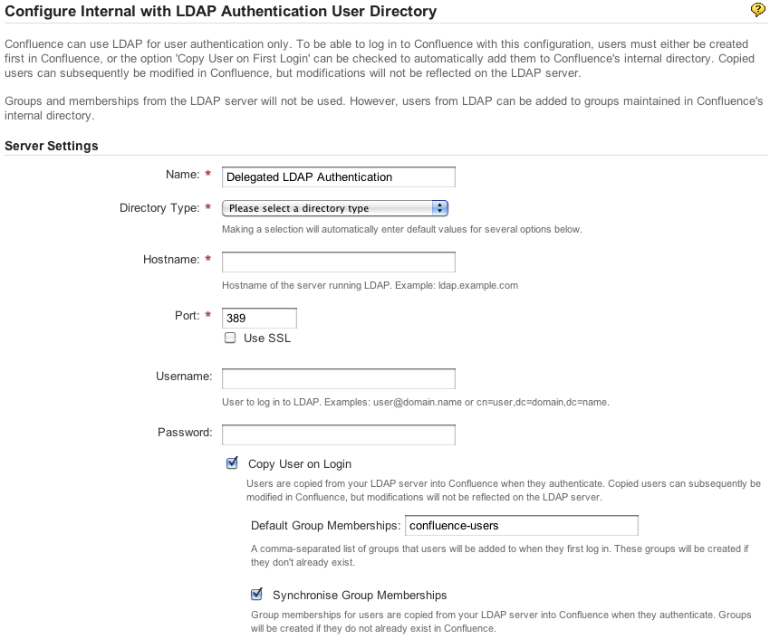 LDAP synchronisation process takes too long if number of