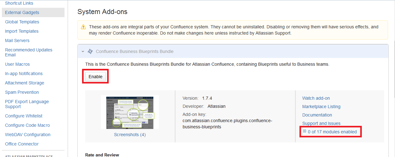 Track another decisioncreate decision button no longer works the second one is when the confluence business blueprints bundle plugin is disabled malvernweather
