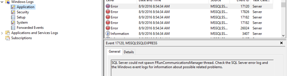 How to view Windows application errors using Window Event Viewer