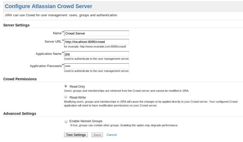 Integrating Crowd with Atlassian Jira - Atlassian Documentation