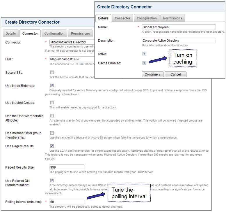 Crowd 2 1 Beta Guide to LDAP Caching - Atlassian Documentation