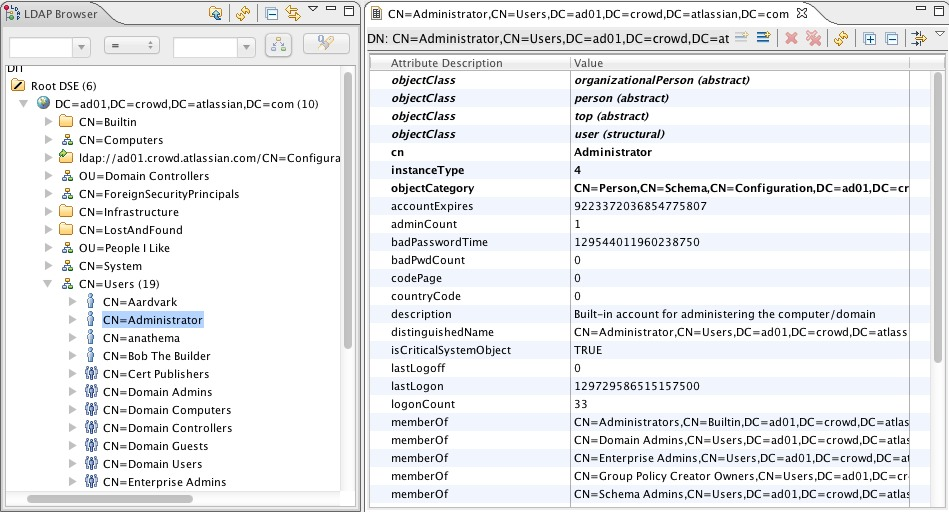 Troubleshooting LDAP User Management - Atlassian Documentation