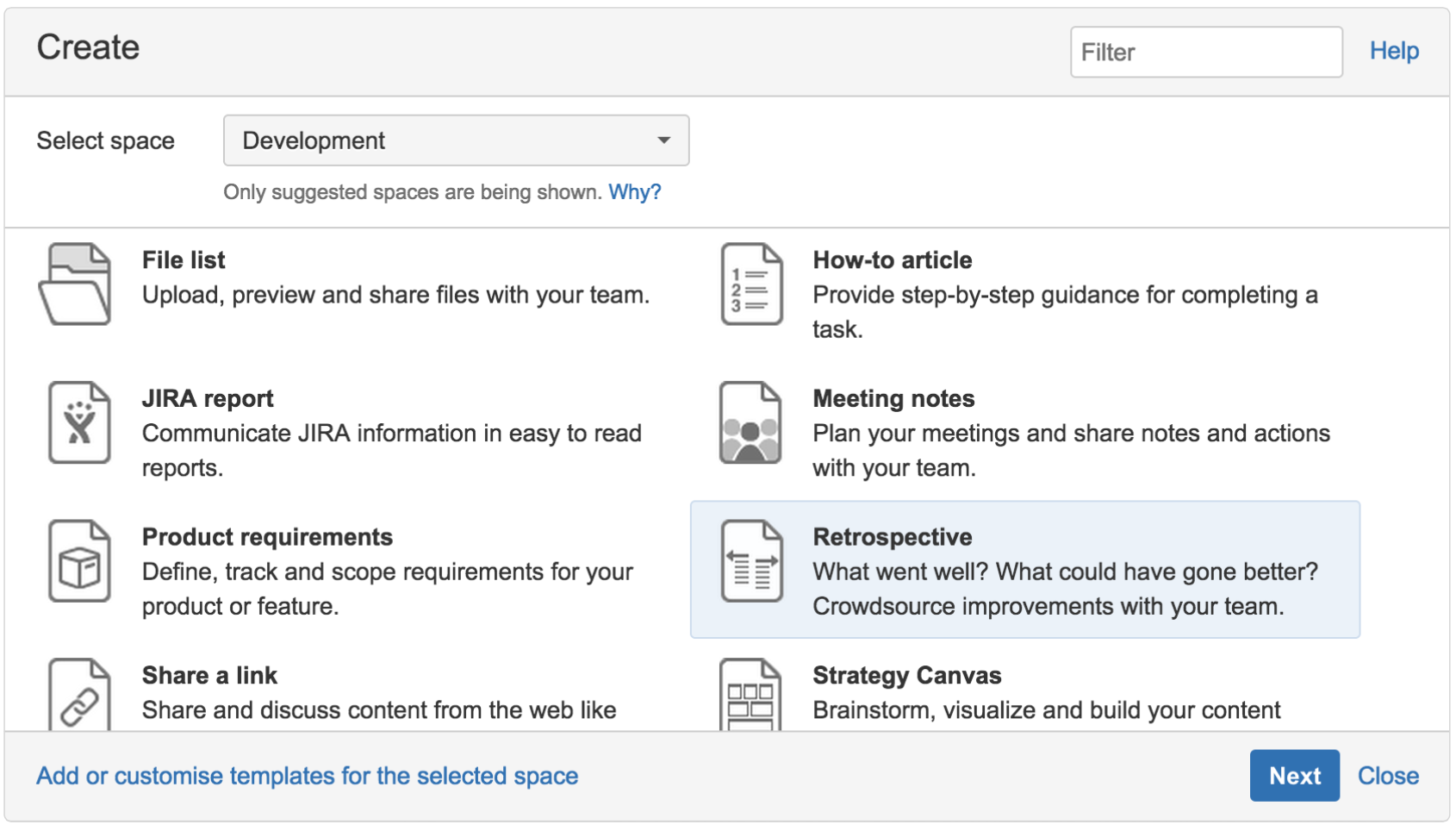 sprint retrospective meeting template - create sprint retrospective and demo pages like a boss