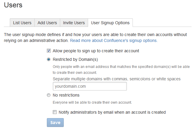 Add and Invite Users - Atlassian Documentation