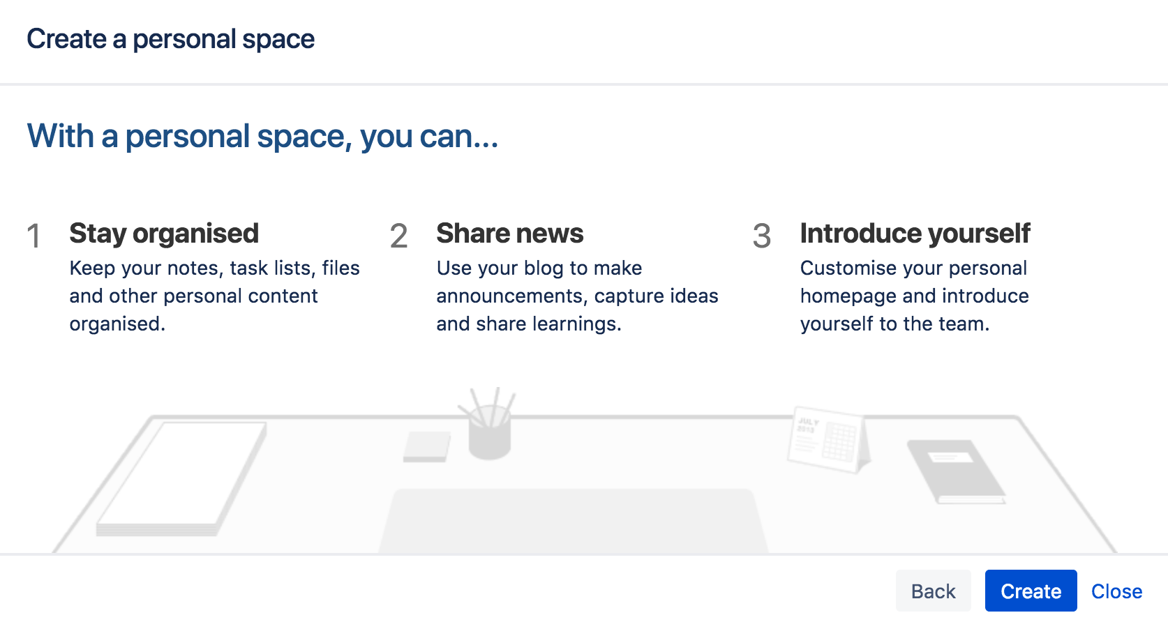 Create a space atlassian documentation create a site space malvernweather Gallery