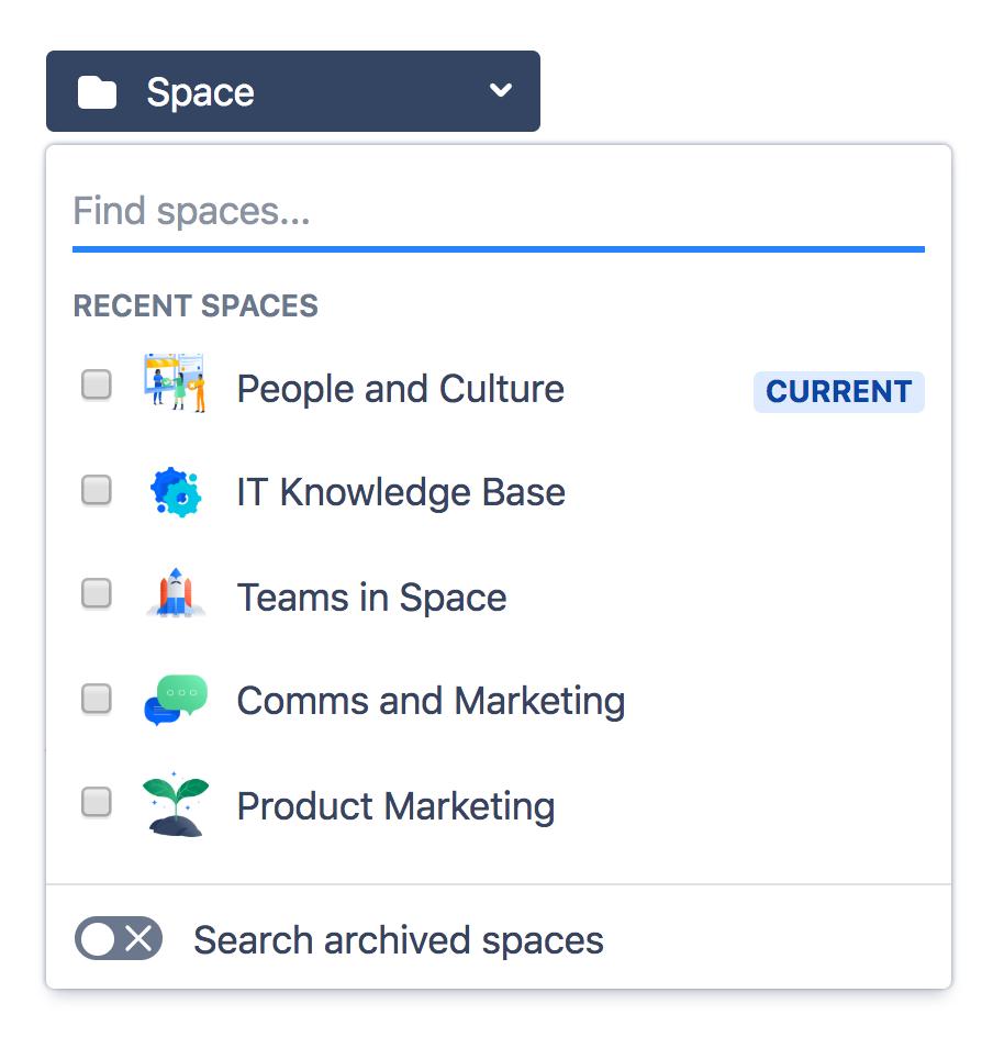 Search - Atlassian Documentation