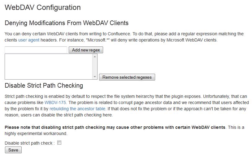 Configuring a WebDAV client for Confluence - Atlassian